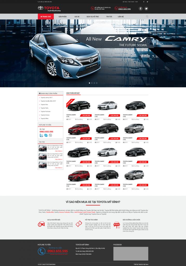 Đại lý Toyota Mỹ Đình