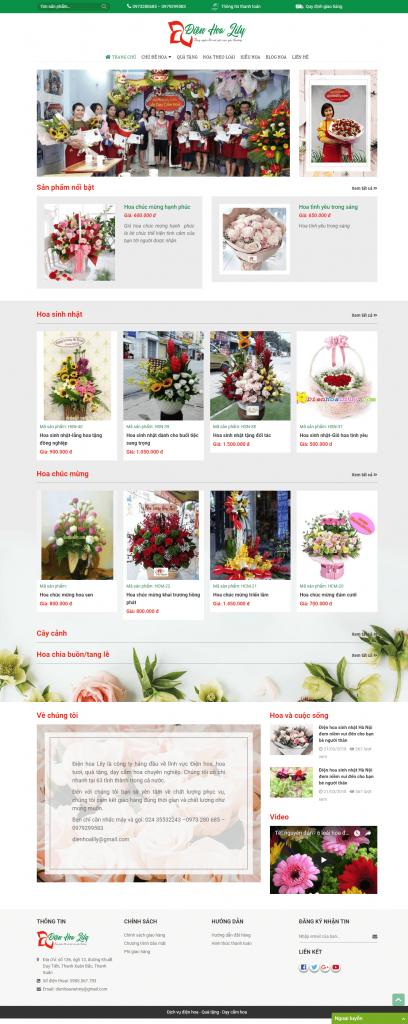 Điện hoa Lily