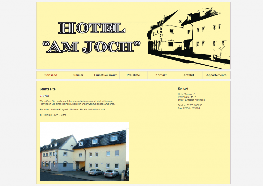 """Hotel """"Am Joch"""""""